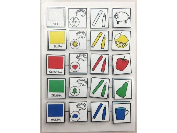 Jiný svět Třídění podle barev. Strukturované učení