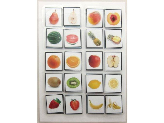 Jiný svět Ovoce - celé a půlené. Strukturované učení