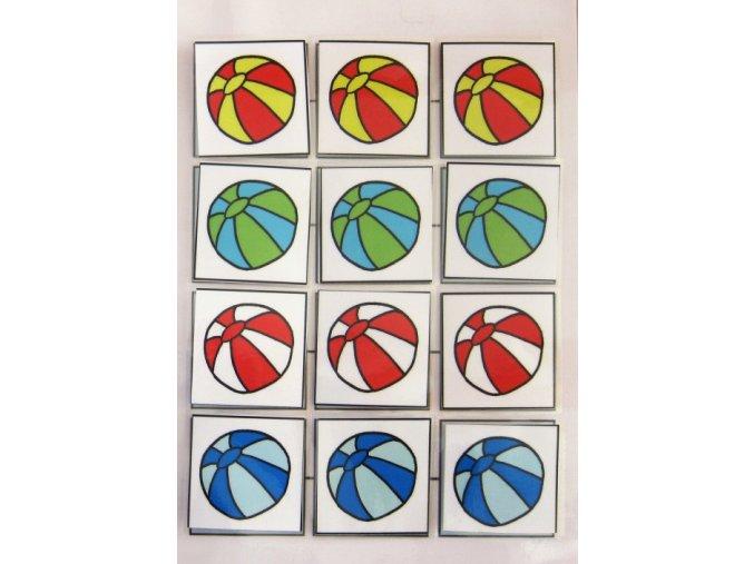 Jiný svět Třídíme barevné míče. Strukturované učení