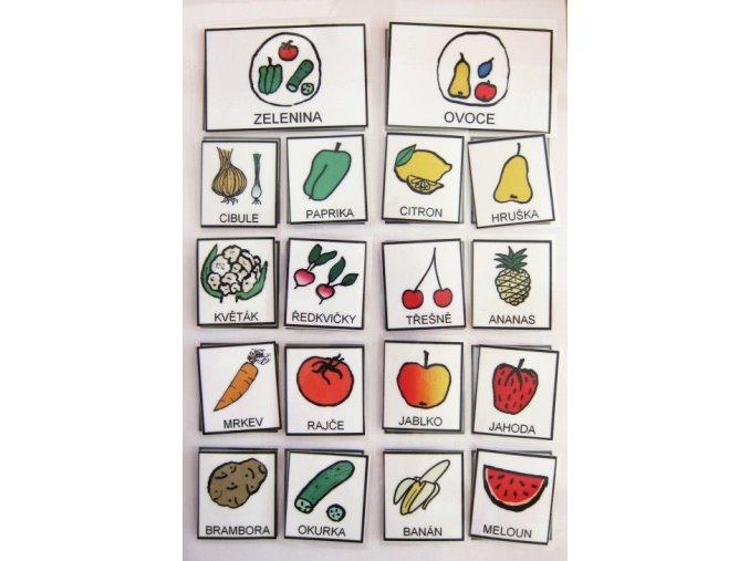 Jiný svět Třídíme - zelenina/ovoce. Strukturované učení