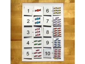 Jiný svět Počítáme do 10, bonbóny