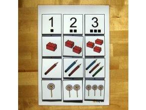 Jiný svět Počítáme do 3,  II., strukturovaný úkol (13 dílů)