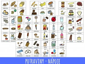 4. potraviny a nápoje