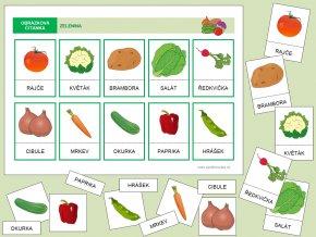 zelenina barevná