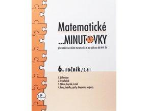 Matematické minutovky 6. ročník / 2. díl