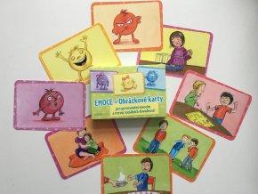 EMOCE-Obrázkové karty pro porozumění emocím a rozvoj sociálních dovedností