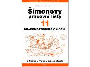 Šimonovy pracovní listy 11 - Grafomotorická cvičení