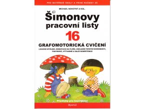 Šimonovy pracovní listy 16 - Grafomotorická cvičení