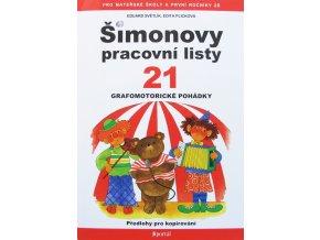 Šimonovy pracovní listy 21. Grafomotorické pohádky