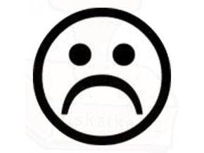 Razítko Smutný smajlík