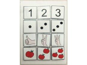 Počítáme do 3. Strukturované učení