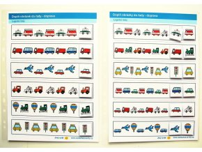Jiný svět Logické řady - doprava. 2 Strukturované listy