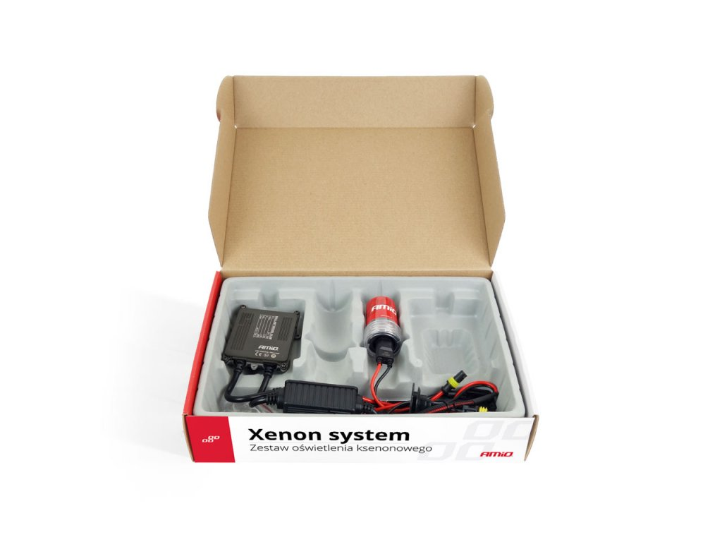 Prestavbová xenonóvá sada pre motocykel - S1068 H1 4300K