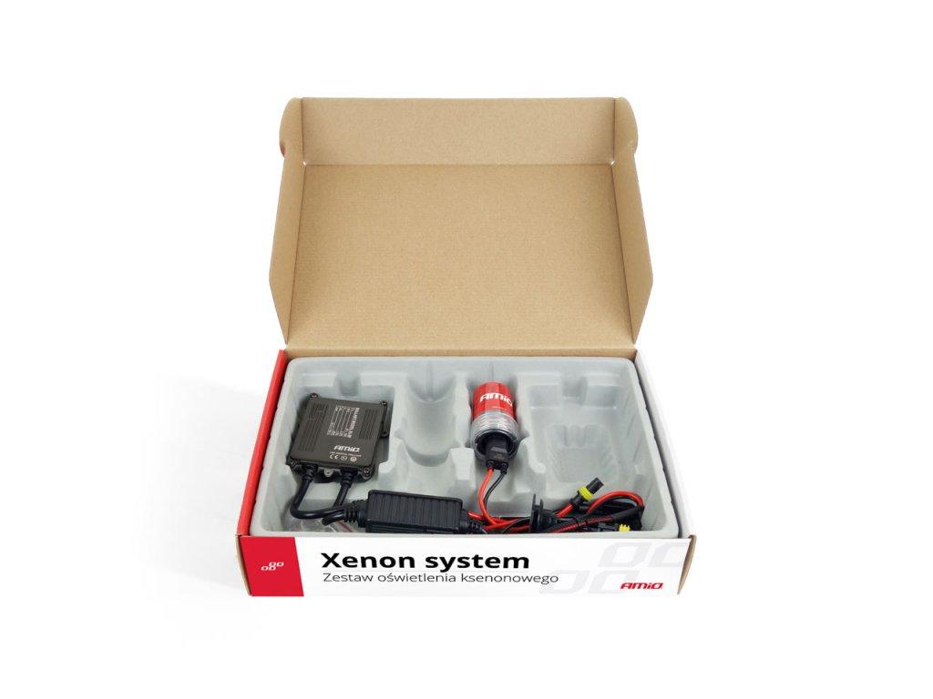 Prestavbová xenonóvá sada pre motocykel - S1068 H8 H9 H11 4300K
