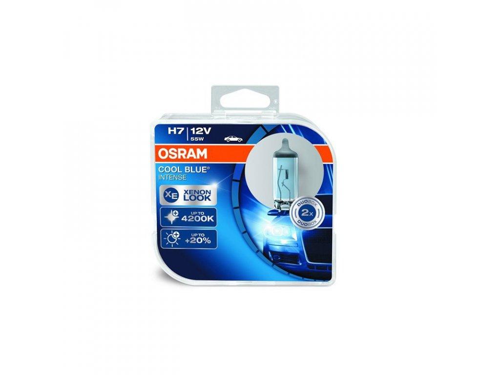Halogénové žiarovky Osram H7 12V 55W PX26d Cool Blue Intense 2ks