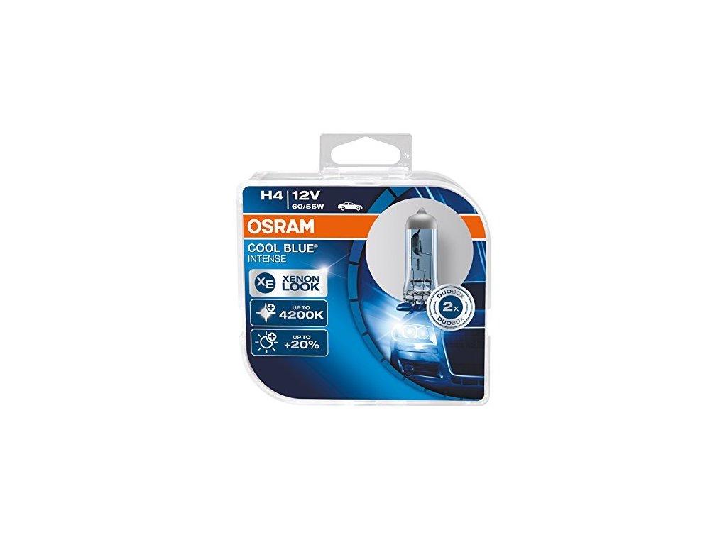 Halogénové žiarovky Osram H4 Cool Blue Intense Box 2ks
