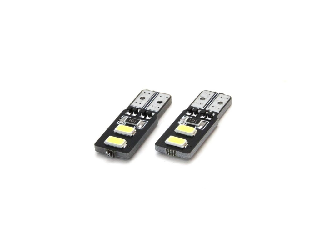 LED žiarovky STANDARD T10 W5W 4xSMD 5730 12V