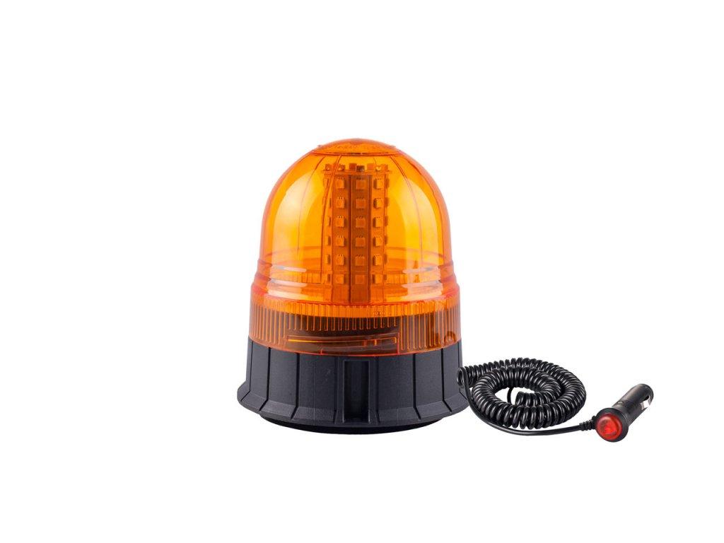 Výstražný LED maják WAR09M, ECE R10 60LED 12/24V IP56