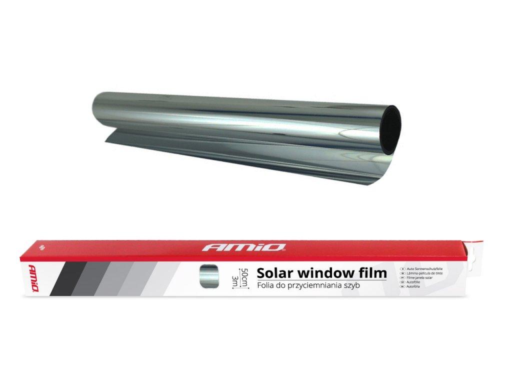 Autofólia Dark Silver 0,5x3m (15%)