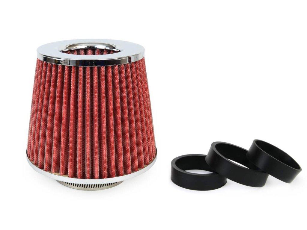 Športový vzduchový filter + 3 adaptéry AF-Chrome