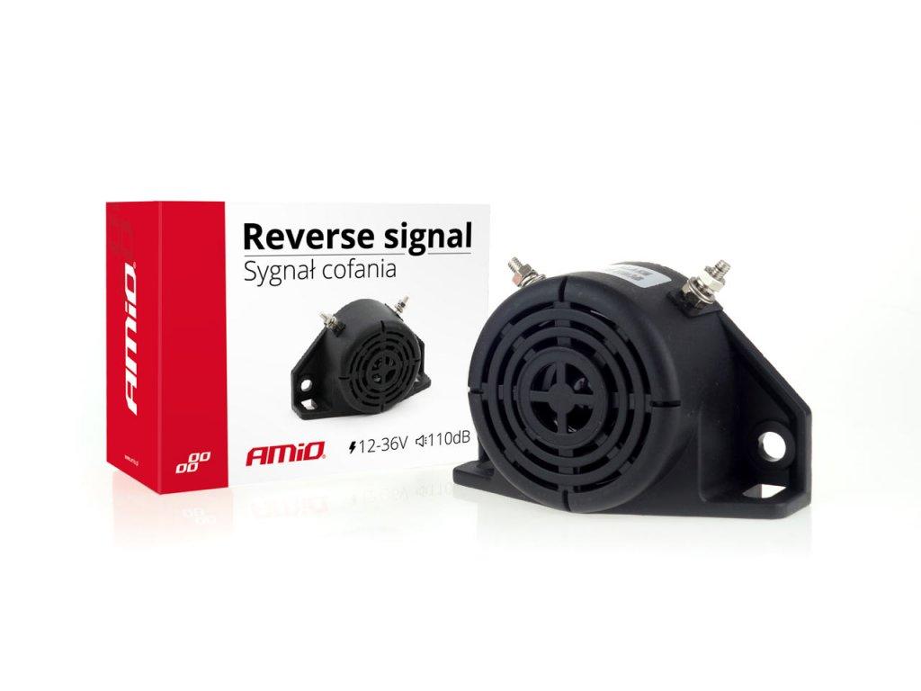 Signalizácia cúvania 12-36V 110 dB