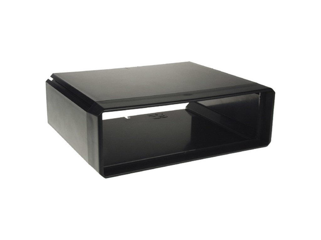 Univerzálny box s otvorom DIN, vonkajšie rozmery v67 x S204 x hl164mm