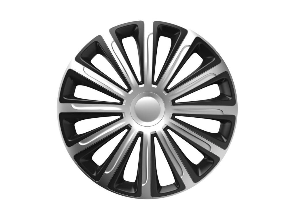 """Puklica Trend silver&black 14"""""""