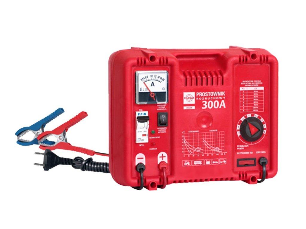 Nabíjačka auto/moto batérií Kukla BK 5 300A s podporou štartovania