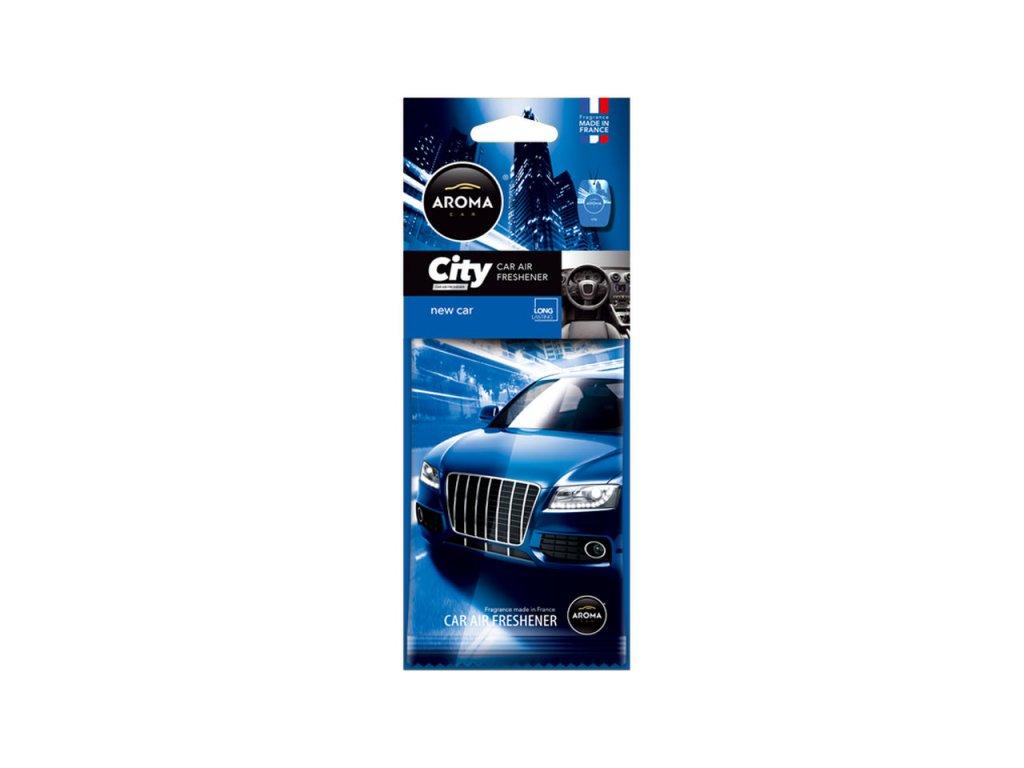 Osviežovač vzduchu AROMA CAR CITY CARD NEW CAR