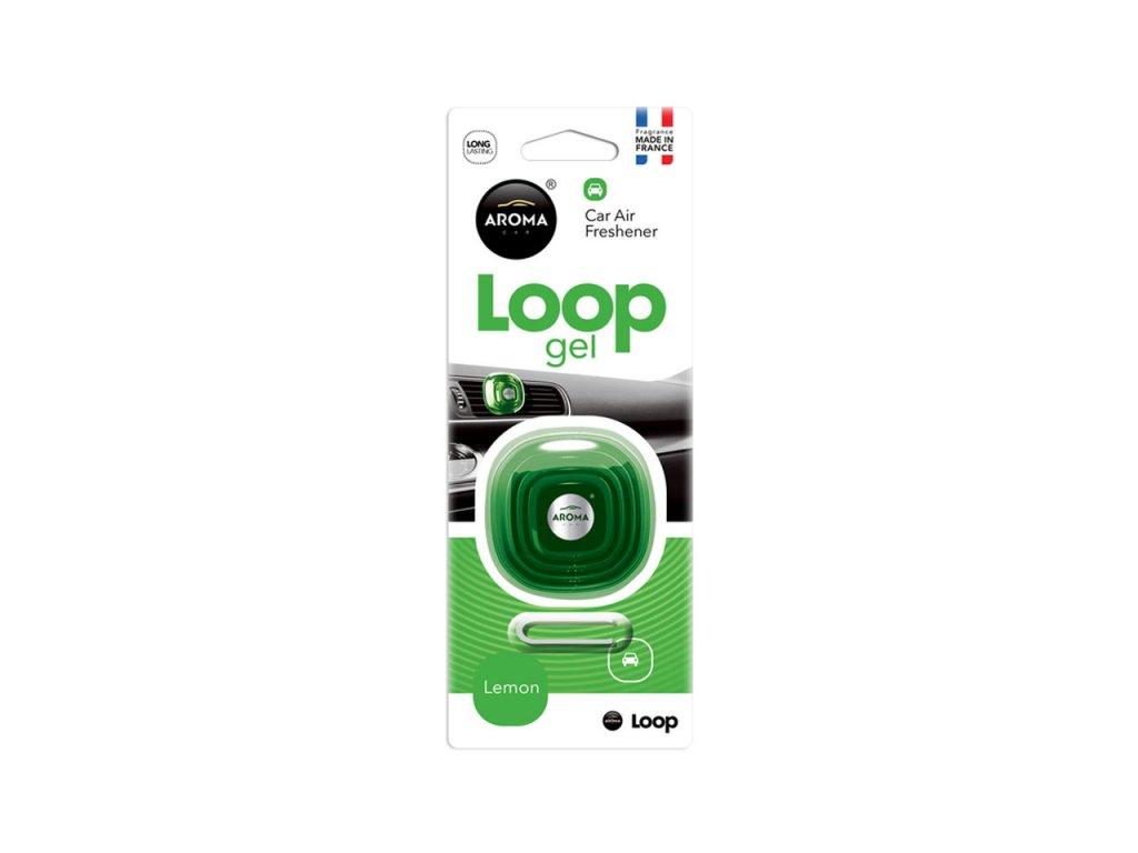 Osviežovač vzduchu AROMA CAR LOOP - LEMON