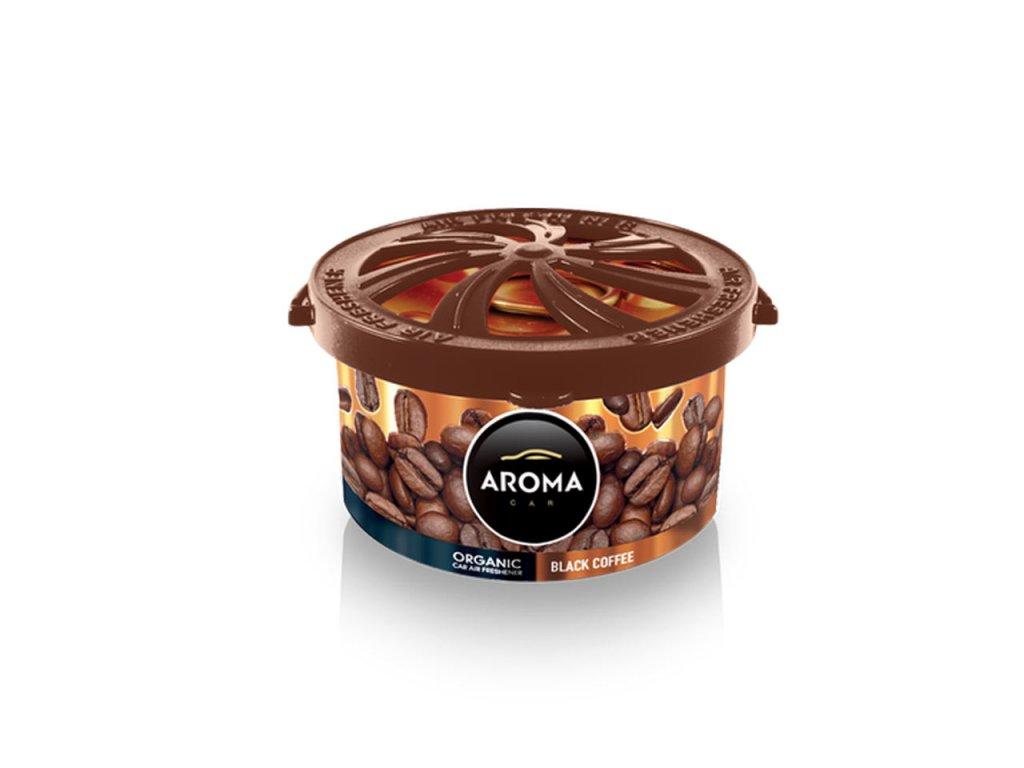 Osviežovač vzduchu AROMA CAR ORGANIC Black coffee