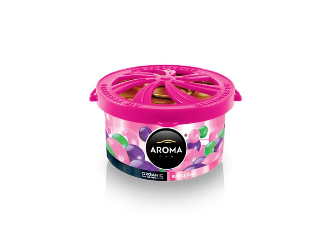 Osviežovač vzduchu AROMA CAR ORGANIC Bubble gum