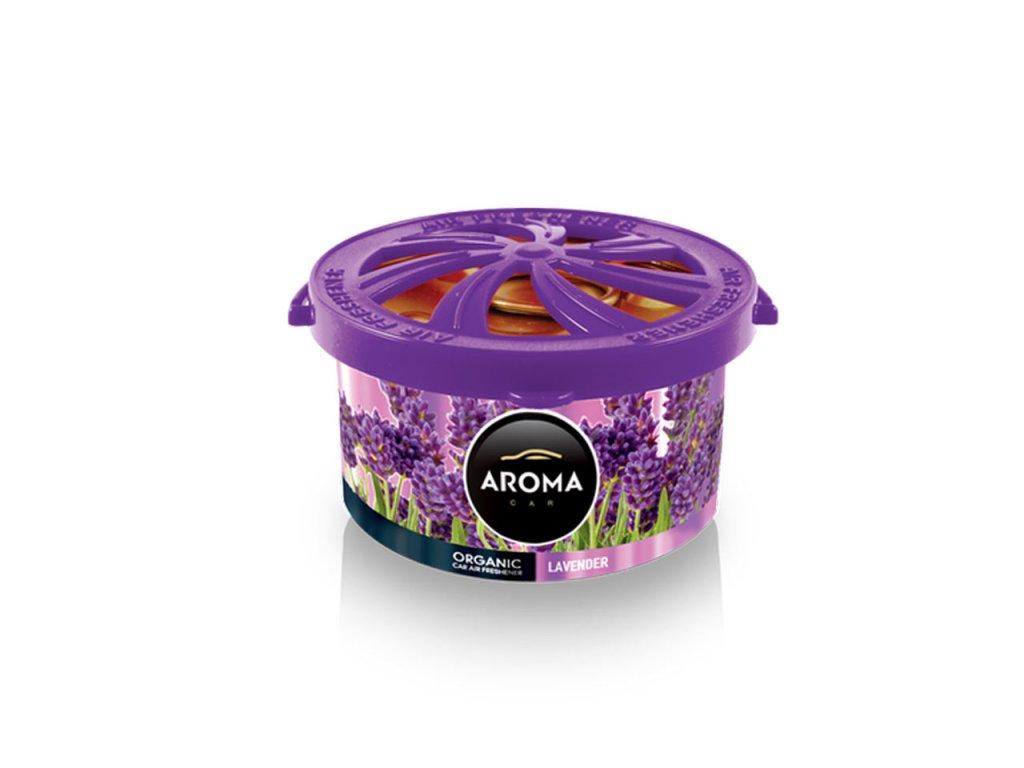 Osviežovač vzduchu AROMA CAR ORGANIC Lavender