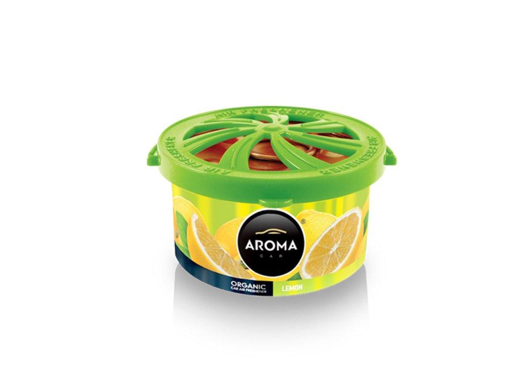 Osviežovač vzduchu AROMA CAR ORGANIC Lemon