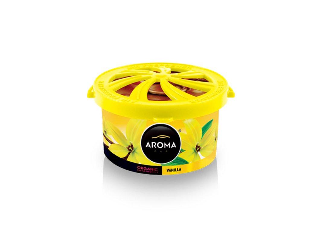 Osviežovač vzduchu AROMA CAR ORGANIC Vanilla