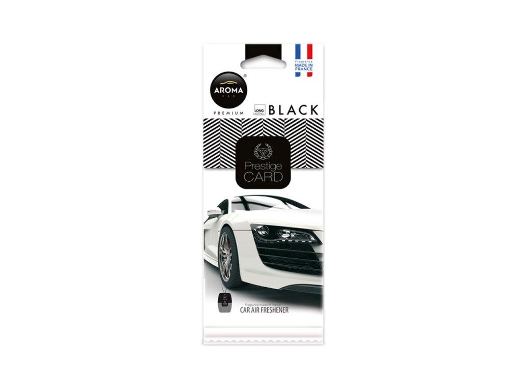 Osviežovač vzduchu AROMA CAR PRESTIGE CARD BLACK