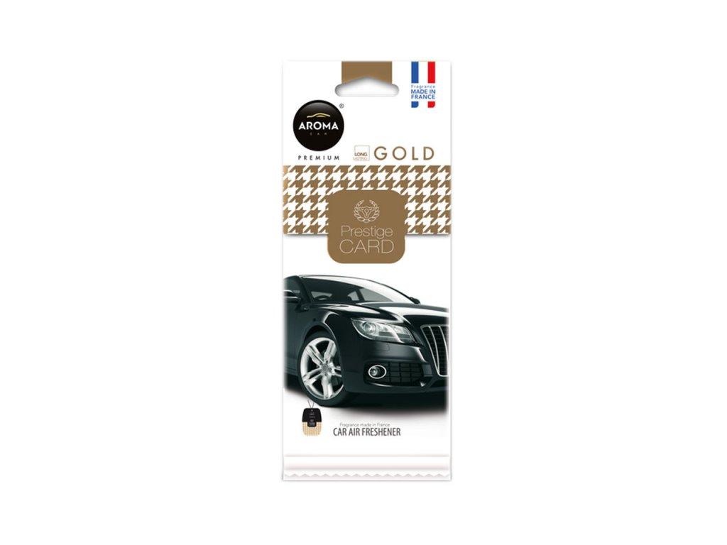 Osviežovač vzduchu AROMA CAR PRESTIGE CARD GOLD