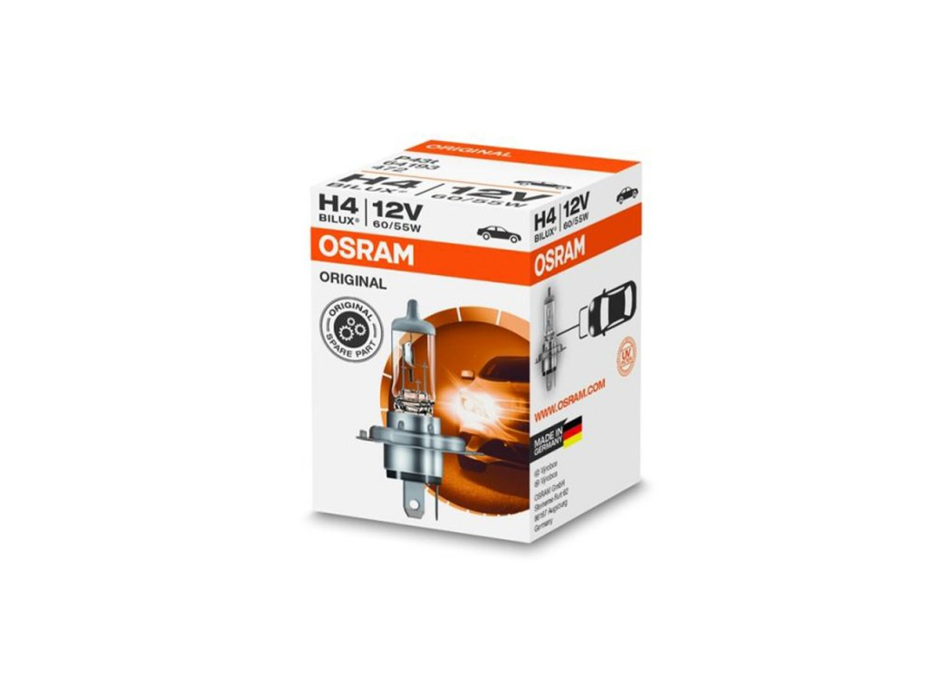 Halogénová žiarovka Osram H4 P43T 12V 60/55W