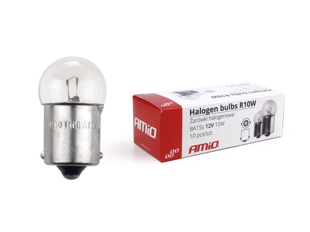 Halogénové žiarovky R10W BA15s 12V 10W 10ks