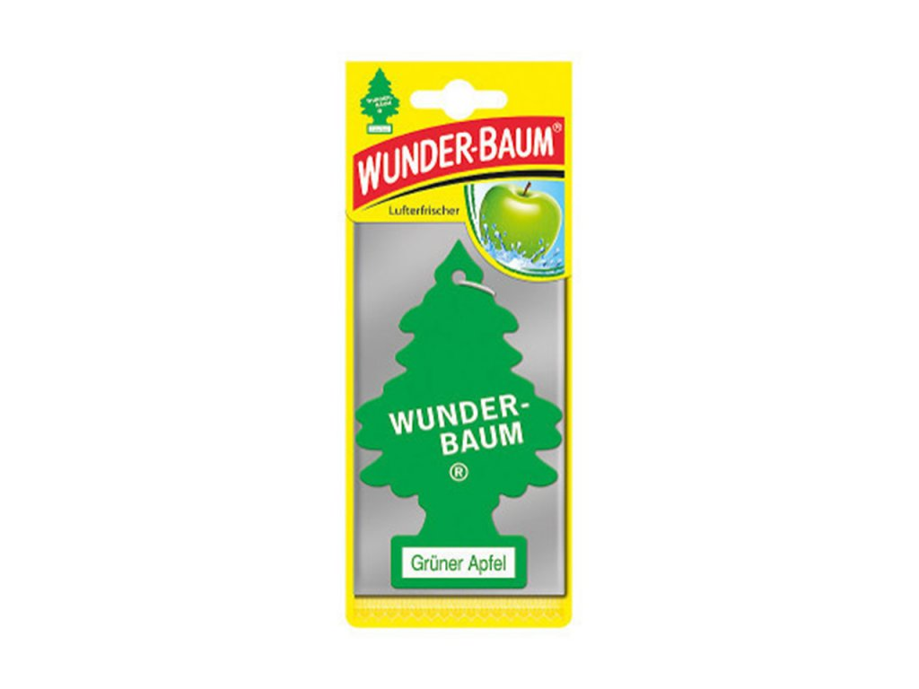 Osviežovač vzduchu Wunder Baum - Zelené jabĺčko