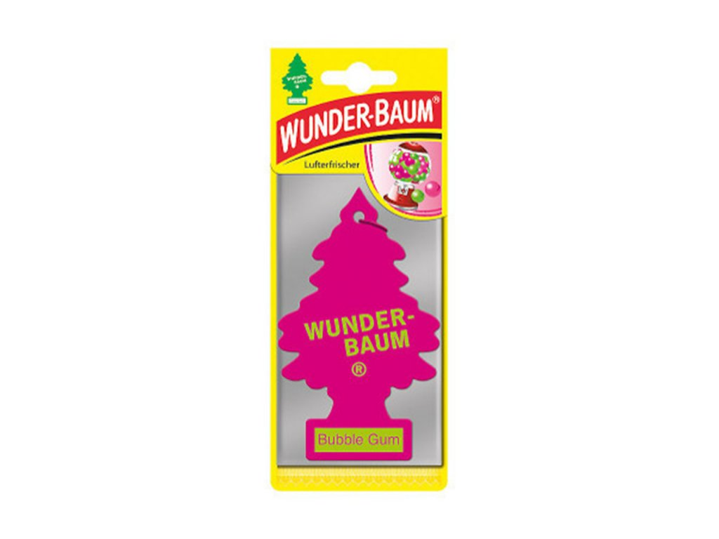 Osviežovač vzduchu Wunder Baum - Bubble Gum