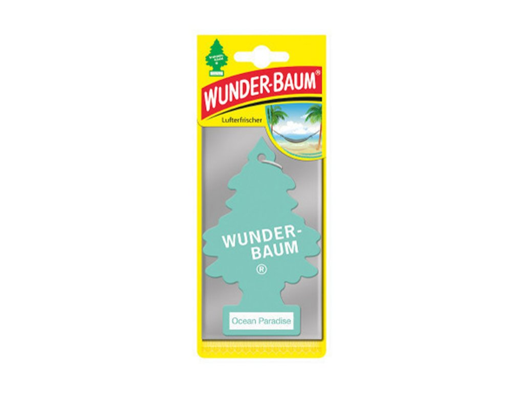 Osviežovač vzduchu Wunder Baum - Ocean Paradise
