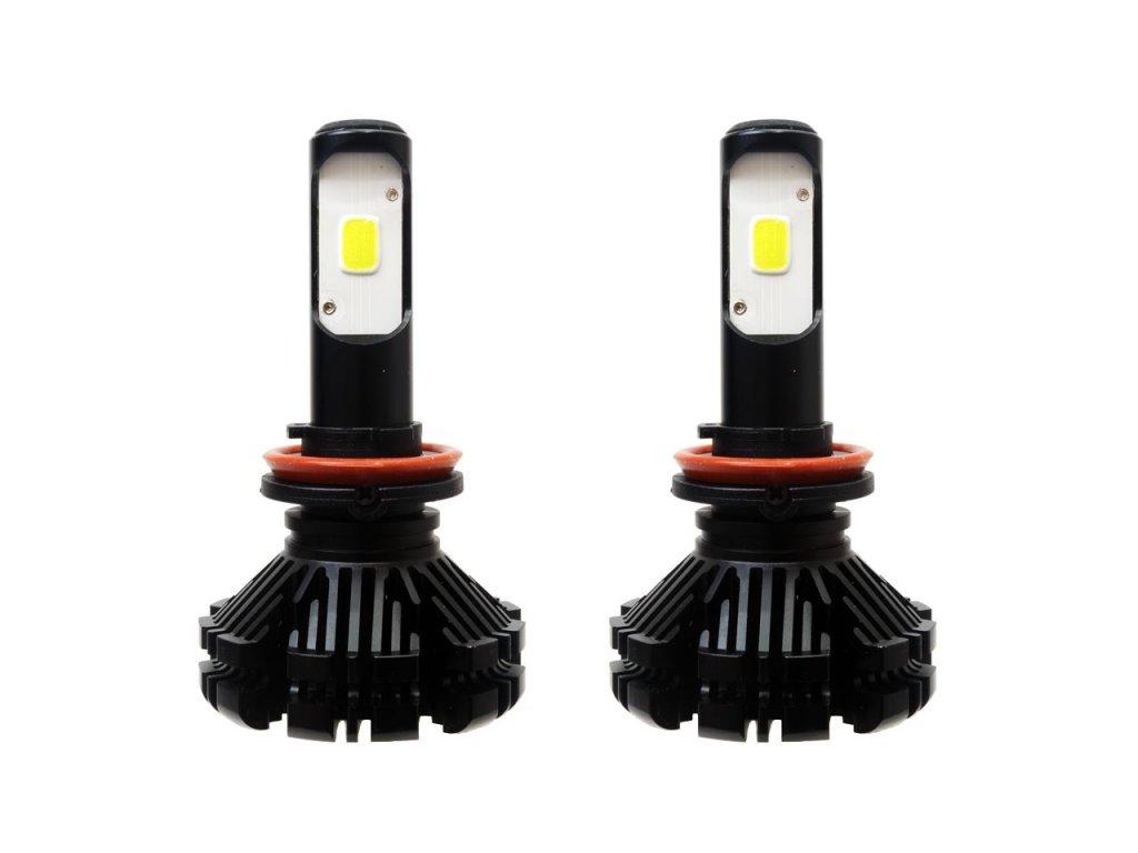 LED žiarovky pre hlavné svietenie H8/H9/H11 CX séria