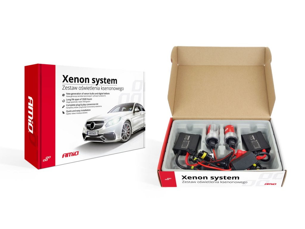 Prestavbová xenónová sada SLIM D2S 6000K Premium