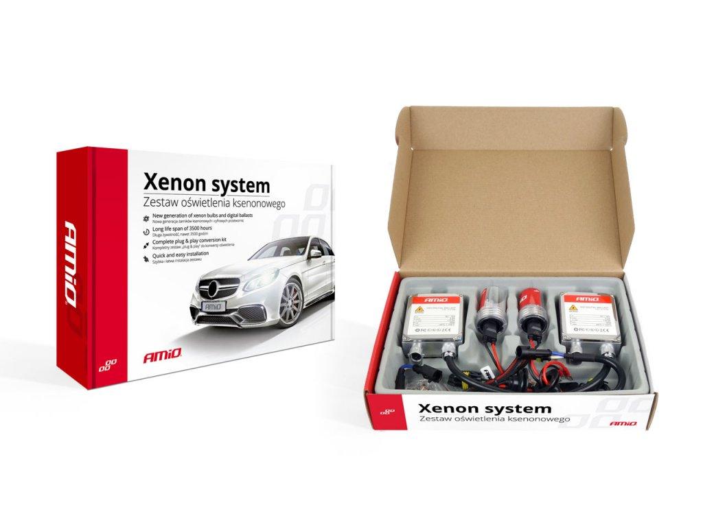 Prestavbová xenónová sada 1103 D2S 8000K Premium