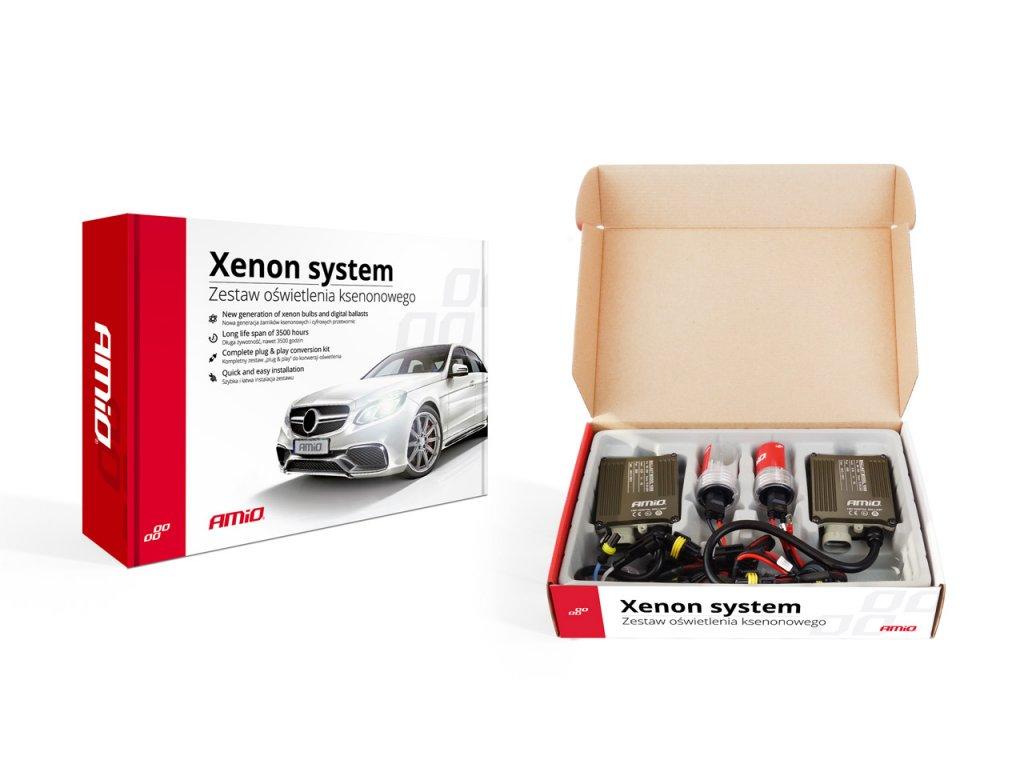 Prestavbová xenónová sada S1068 CANBUS D2S 6000K Premium