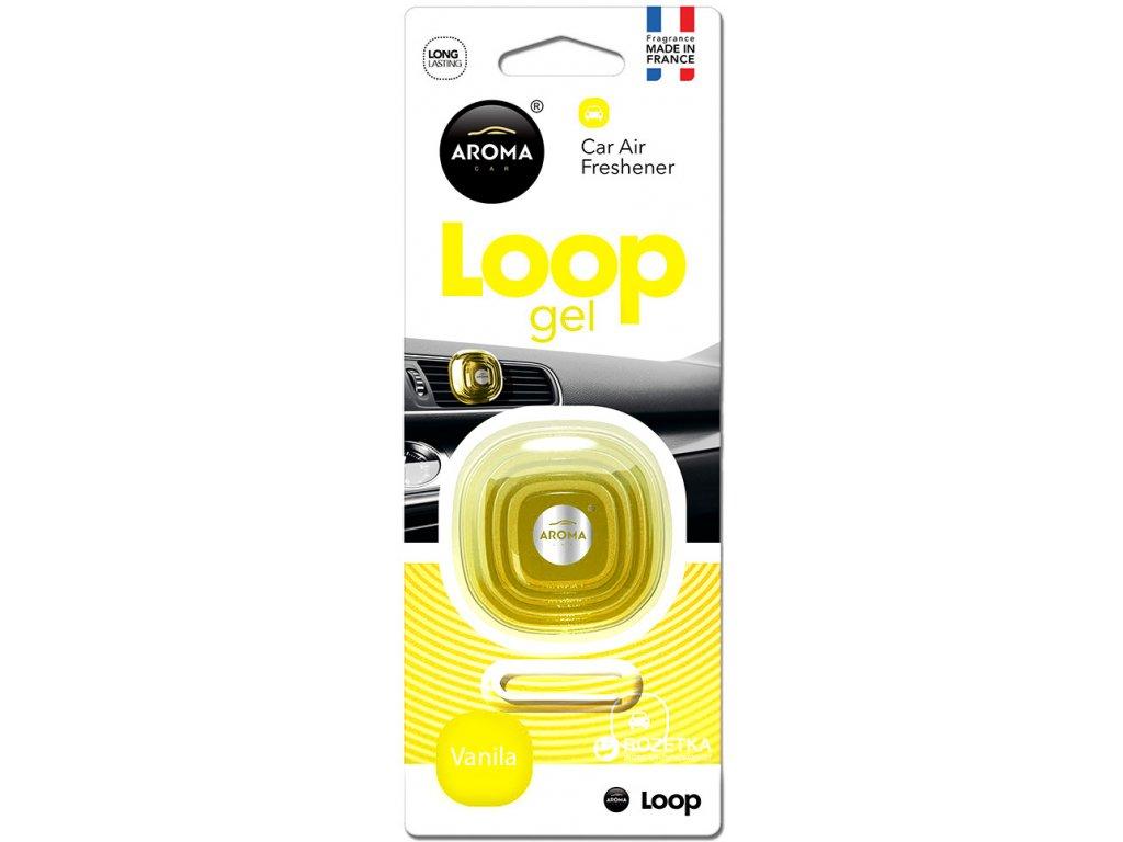 Osviežovač vzduchu AROMA CAR LOOP - VANILLA