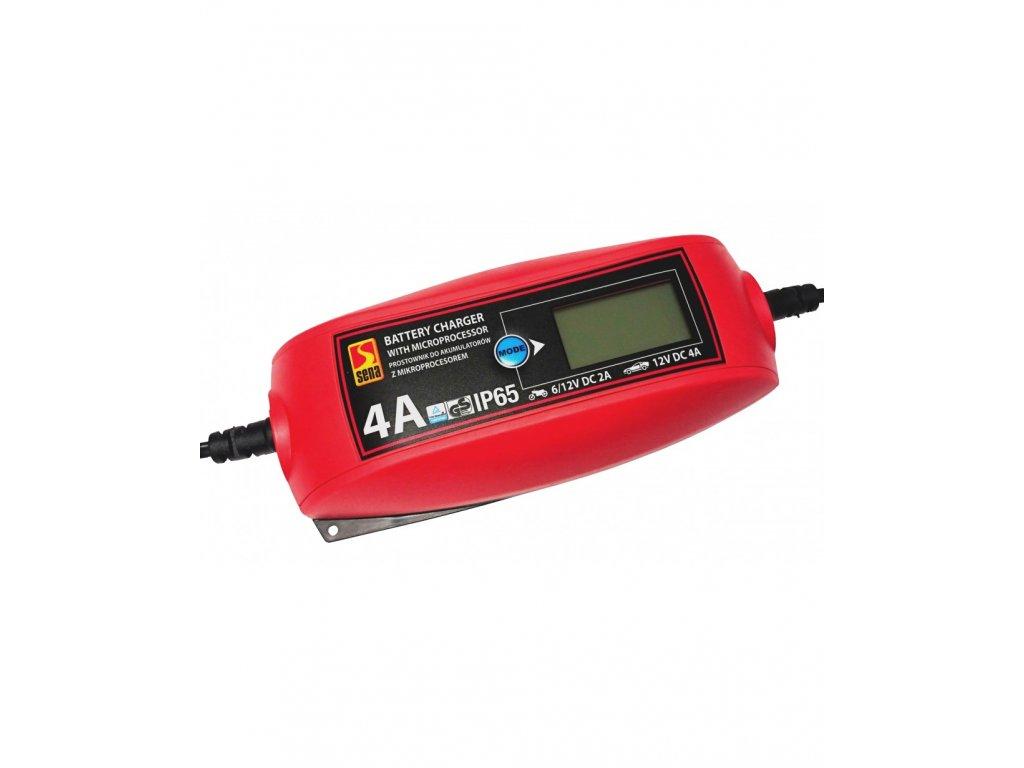 Nabíjačka batérií s mikroprocesorom 4A IP65 TUV / GS
