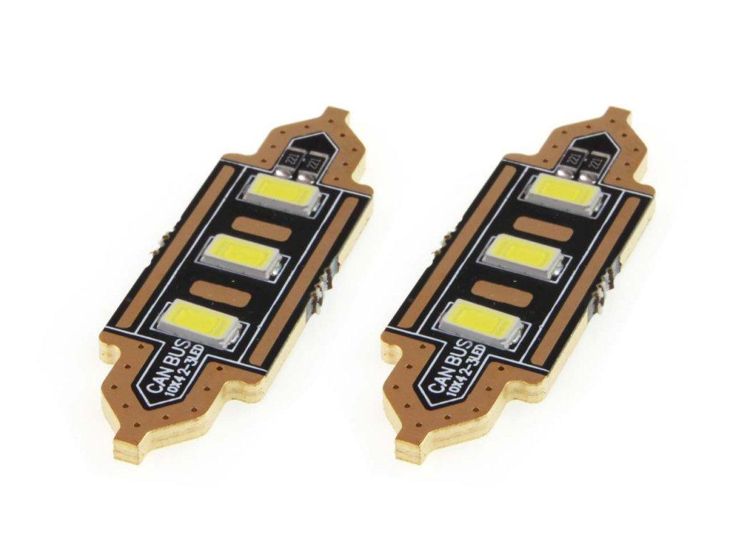 LED žiarovky STANDARD Festoon C5W 3xSMD 5730 12V 41mm