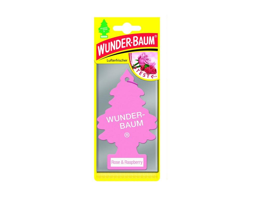 Osviežovač vzduchu Wunder Baum - Rose&Raspberry